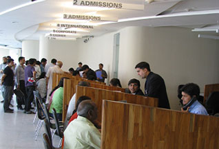 Patient Registration Area