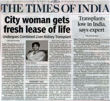 City women gets fresh lease of life
